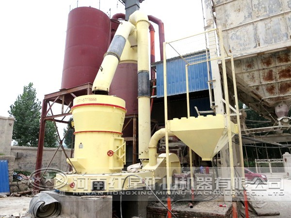 页岩磨粉生产线