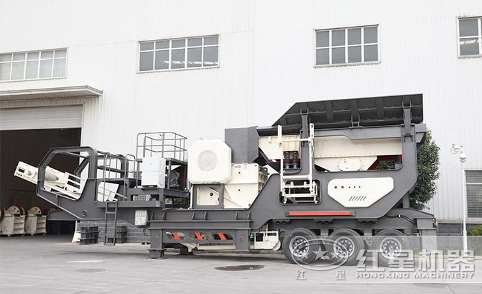 新型移动矿石机