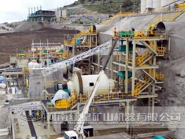 石墨选矿生产线工艺流程