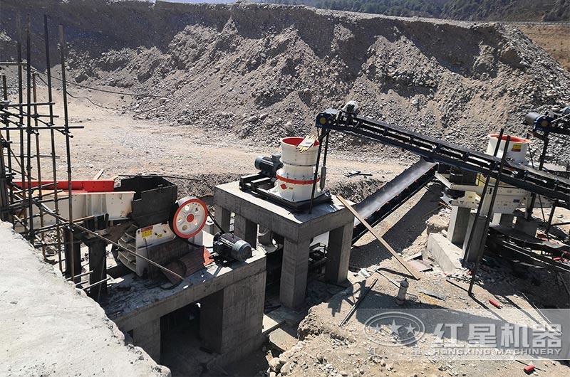 砂石骨料生产线基地