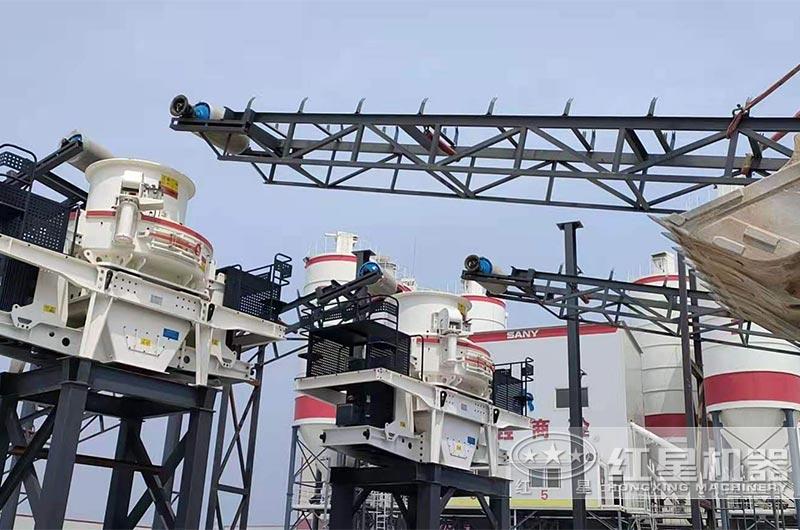 船载四台HVI系列制砂机