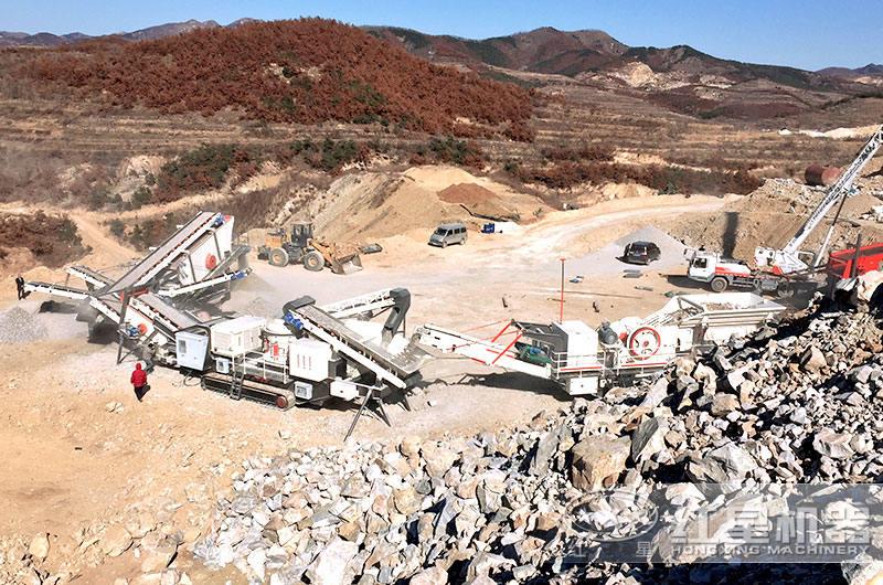大型化制砂厂生产现场