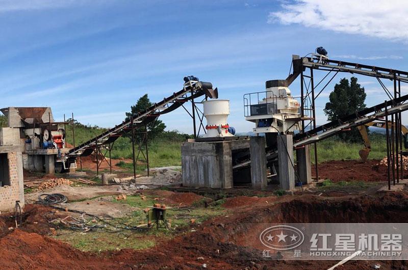 大型破碎制砂生产线