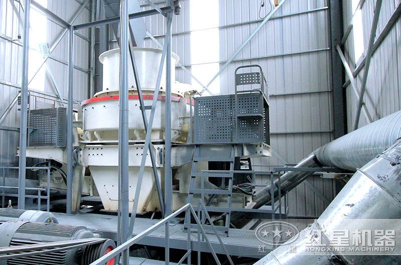 环保防尘制砂生产线